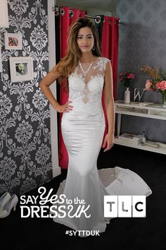 'If it's good enough for Britney, it's good enough for me.' This bride is ready for Vegas!  'Like' if you'd say Yes to this dress. Say Yes To the Dress UK on TLC! #SYTTDUK