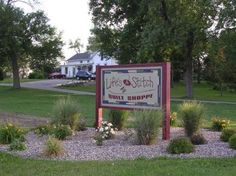 Janesville, Wisconsin.  Wonderful little shop.  Had a great selection of Jo Morton fabrics and gorgeous quilts displayed!