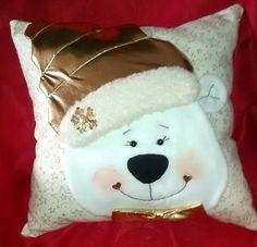 Christmas Chair, Christmas Crafts, Christmas Decorations, Christmas Ornaments, Felt, Cushions, Teddy Bear, Throw Pillows, Sewing