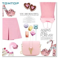 """""""Tomtop 24"""" by nerma10 ❤ liked on Polyvore featuring Love Moschino, Giamba, Wilton, NARS Cosmetics, women's clothing, women, female, woman, misses and juniors"""