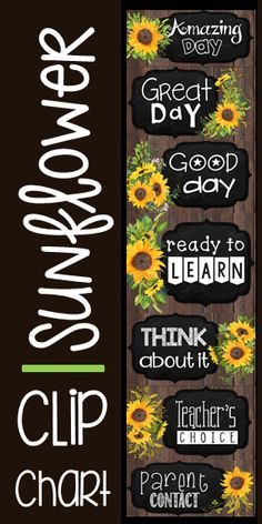 Farmhouse Classroom theme behavior clip chart Encourage positive behavior with this classroom management system This style features watercolor floral sunflowers on dark ship lap and chalkboard Elementary Classroom Themes, Toddler Classroom, Classroom Decor Themes, Classroom Posters, Classroom Design, Classroom Ideas, Future Classroom, Classroom Door, Behavior Chart Printable