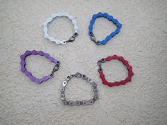 Bicycle Chain Bracelet by CreationsByTim on Etsy, $10.00