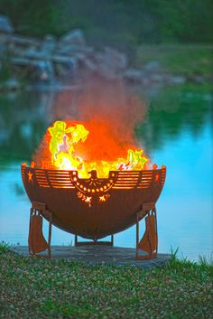 Freeedom Fire  37 Patriotic Themed Fire Pit  door TheFirePitGallery