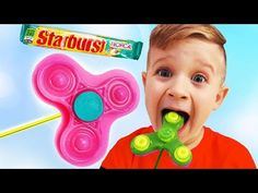 Bad Baby eating Fidget Spinner Candy! Johny Johny yes papa Song Nursery Rhymes Song for Children - YouTube