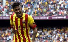 Neymar decide: craque sai do banco e garante vitória do Barça com dois gols #globoesporte