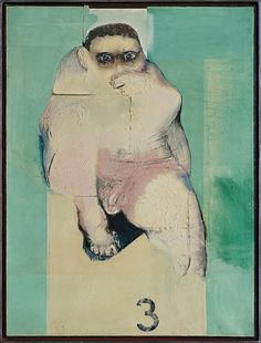 Janusz Przybylski (Poland, 1937 - 1998) / NR 3 1968 Neo Expressionism, Agra, Poland, Sculptures, Drawings, Painting, Beautiful, Painting Art, Sculpting
