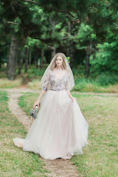 The Lava 3/4 Sleeve ivory Lace wedding dress STYLE 1806, wedding dress,gray, grey wedding dress, nude wedding dress, tulle wedding dress, ivory wedding dress, lace wedding dress, bridal gown v neck  **OUR OTHER ETSY SHOPS: AngellureLingerie - Bridal robes