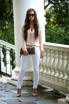 Outfit pastel y blanco!