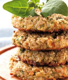 Dieta Já                  » Arquivo                    » Hambúrguer de quinoa com aveia