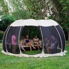 Party Canopy, Pop Up Canopy Tent, Wedding Canopy, Canopy Outdoor, Outdoor Rooms, Screen Tent, Screen House, Screened Gazebo, Patio Gazebo