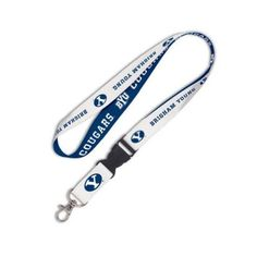 BYU Brigham Young University Cougars Detachable Lanyard Key Ring with NCAA College Sports Team Logos - http://www.ldsfavorites.net/byu-brigham-young-university-cougars-detachable-lanyard-key-ring-with-ncaa-college-sports-team-logos-4/  #LDSgems #lds #mormon #LDStemples