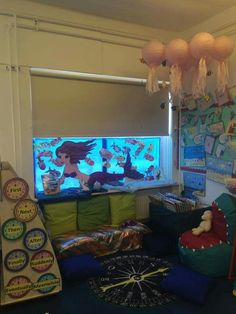Under the sea book corner