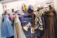 Outfits from some of her most ICONIC music videos. | 12 Swifty Things You'll Only See At The Taylor Swift Experience