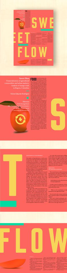 Sweet Flow · Póster - The University of Manchester on Behance