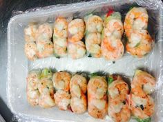 Prawn Cold Rolls - Salt & Chilli Catering