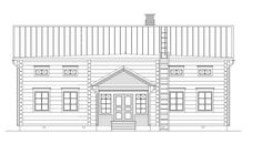 Pohjalaistalomallit | Rakennus Luoma Oy Garage Doors, Floor Plans, Outdoor Decor, Houses, Home Decor, Homes, Decoration Home, Room Decor, Home Interior Design