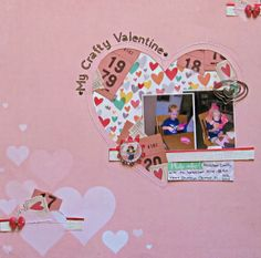 My Scrapbook Evolution: JBS Mercantile: February Kit Projects