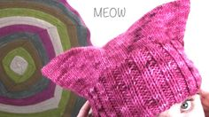 How to Knit the Pussy Hat with Easy, Free Knitting Pattern + Video Tutorial by Studio Knit