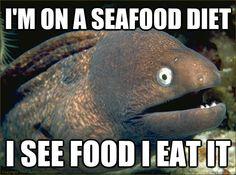 Seafood diet