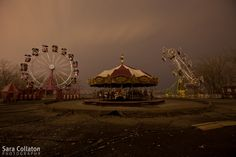 As if Centralia isn't interesting enough as an abandoned town (and inspiration for Silent Hill) they also have a nightmarish amusement park. Creepy Circus, Creepy Carnival, Halloween Carnival, Circus Art, Happy Halloween, Silent Hill Revelation, Circus Aesthetic, Pink Aesthetic, Night Circus