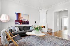 Flower table by Christine Schwarzer for Swedese.  Picture Visionfastighetsmakleri.se