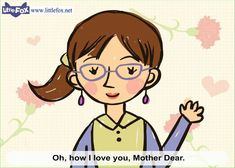 Mother's Day - Mother's Day Song for Kids by Little Fox. Could teach the kids and use without this vid.