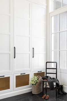 Laundry and Mud Rooms — W Design Collective Hallway Storage, Tall Cabinet Storage, Storage Cabinets, Living Colors, Custom Shelving, Cozy Place, Custom Cabinetry, Built Ins, Mudroom