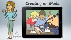 This teacher website is packed with iPad lesson ideas, tips and links....want to take a workshop with her...=}
