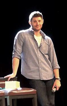 Jensen being...well... Jensen... at #JIBCon2014