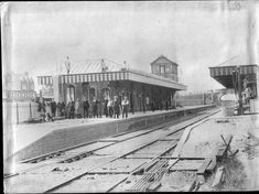 Sheringham Station in 1885 courtesy Norwich Orbital Railway FB page Old Train Station, Train Stations, Steam Railway, Steam Engine, Steam Locomotive, Train Tracks, Norfolk, Vintage Photos, Trains