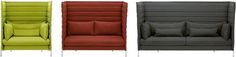 Vitra Alcove Highback Love Seat (Not CAL133)