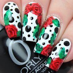 Instagram photo by lusterlacquer  #nail #nails #nailart