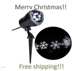 Lightshow-LED-Projection-Snow-Flurry-Christmas-Lights-White-Snowflake-Decor