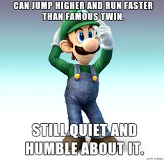 Good Guy Luigi via Reddit user Dashe101