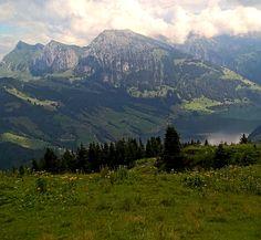 On the top of Gross Aubrig, Switzerland
