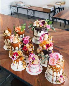 #nakedcake #flower #cake