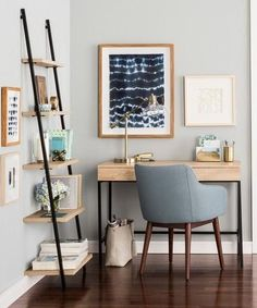 Serene Home Office Space
