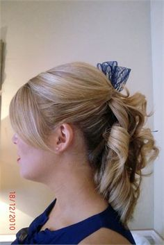 Half up half down from Amazing Hair Do