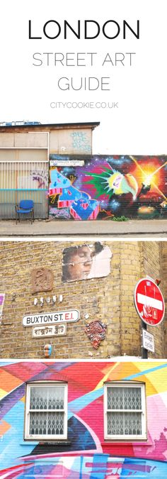 A helpful guide that takes you around Shoreditch to see the best street art that East London has to offer!