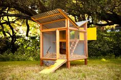 When Bay Area designers Kevin McElroy and Matthew Wolpe of Just Fine Design/Build unveiled their mod chicken coop Chick-in-a-Box at a 2010 Maker Faire, they thought they were on to something....