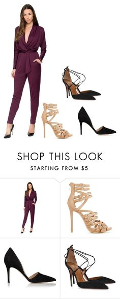 """Untitled #2467"" by j4b0n ❤ liked on Polyvore featuring Kardashian Kollection, Gianvito Rossi and Aquazzura"