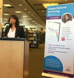 Parents Book-signing Held for Author Roma Khetarpal at Barnes & Noble, Costa Mesa on January 24. #theperfectparent