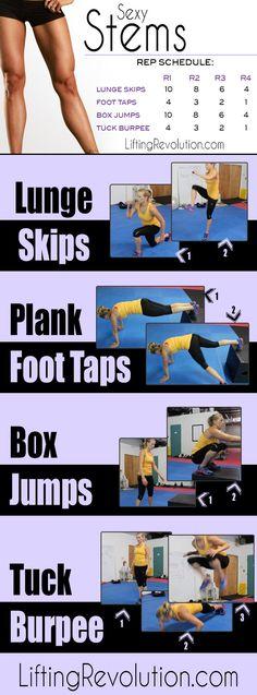 Sexy Stems: Leg Workout For Women