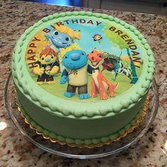 Wallykazam Cake, Edible Cake Topper