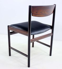 Rosewood Dining Chairs by Grete Jalk