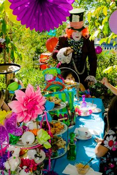 """Photo 4 of 49: Mad Hatter/Alice in Wonderland / Birthday """"Kayla's Mad Hatter Tea Party"""" 