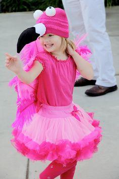 Costume: Pink Flamingo