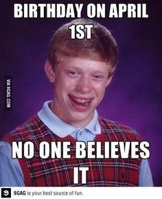 meme brian Bad luck