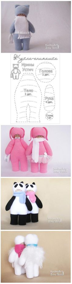 DIY Fabric Little Doll DIY Projects | UsefulDIY.com Follow us on Facebook ==> https://www.facebook.com/UsefulDiy
