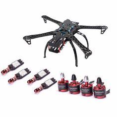 X500 / S500 500mm Quadcopter Frame kit with landing gear   30A Simonk ESC   2212 920KV motor for FPV Racing Drone
